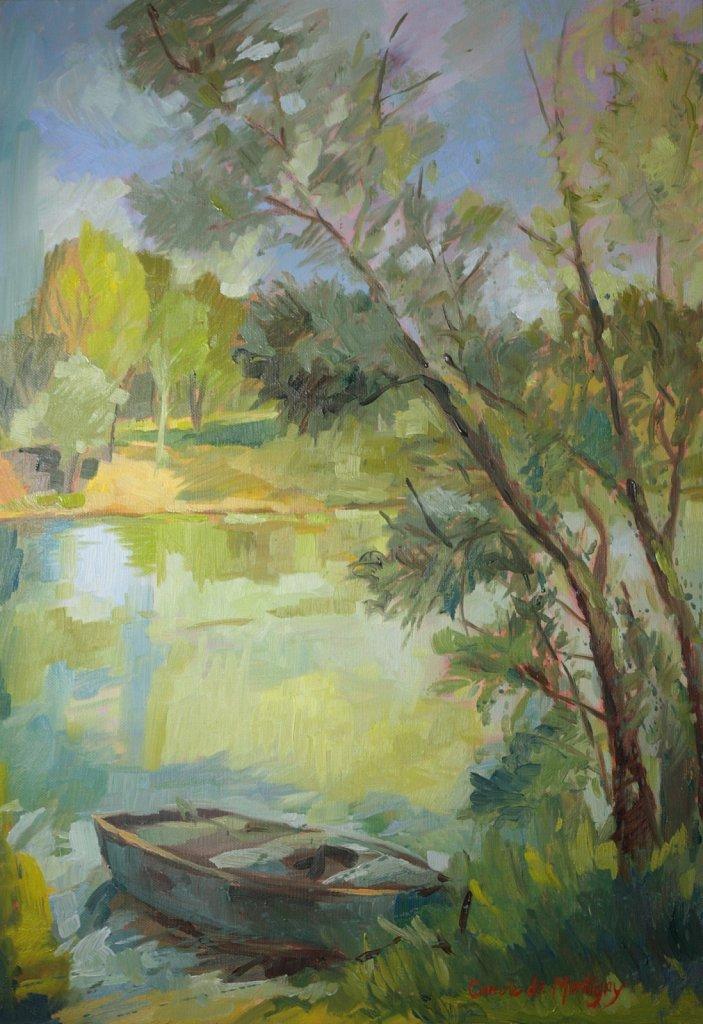 Les bords de la Saône à Troissey