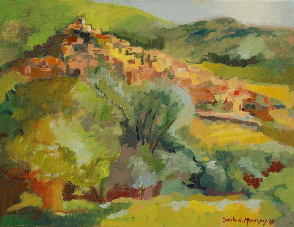 ( vendu ) La colline de Mirmande