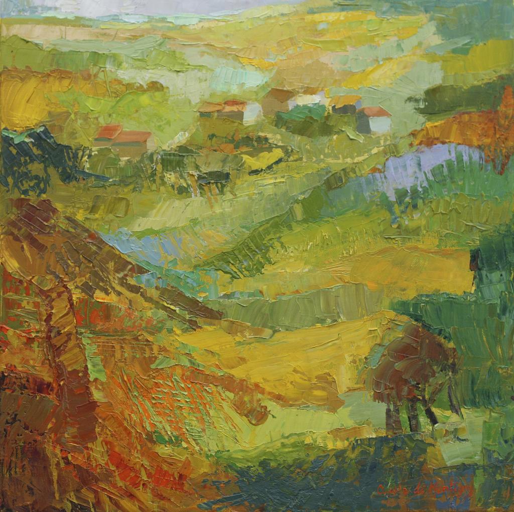 Vue de l'atelier de Flavigny